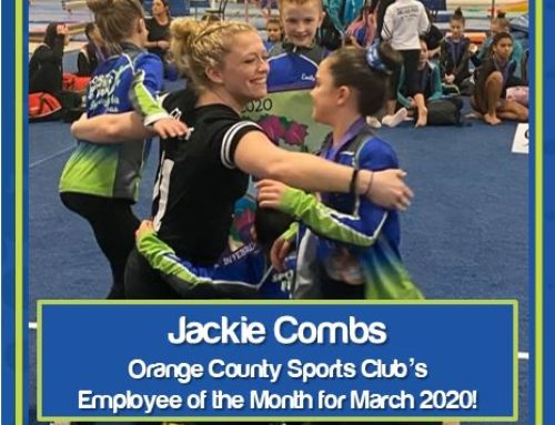 Congratulations to the Employee of the Month for March 2020, Jackie Combs!