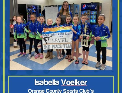 Congratulations to OCSC Employee of the Month for June 2020: Isabella Voelker!