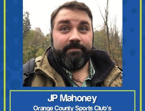 Congratulations to OCSC Employee of the Month for May 2020: JP Mahoney!